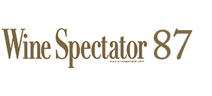 Wine Spectator 87 Points