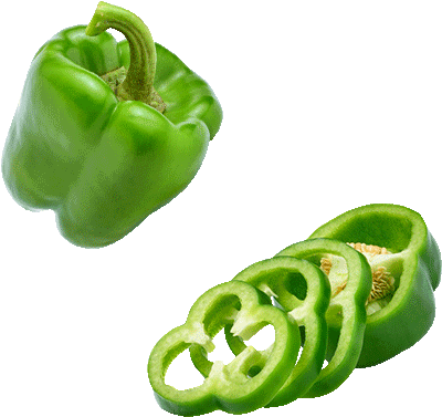 … green pepper