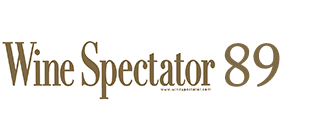 Wine Spectator 89 Points